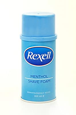 Rexell Protective Shaving Foam Menthol 300ml from Rexell