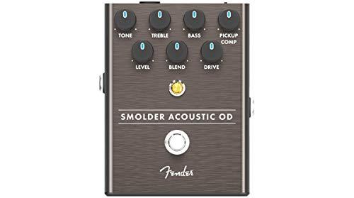 Fender® SMOLDER ACOUSTIC OD Overdrive Floor Effect Pedal for Acoustic Guitar