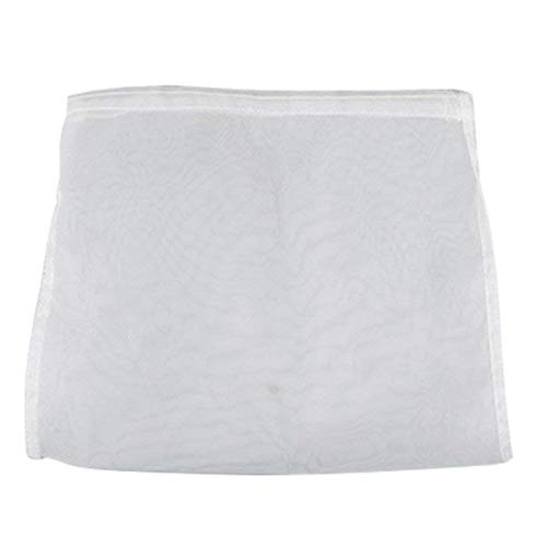 EJWOX 0.53-0.8 Gallon Cheesecloth Bags Filter Bag for Stainless Steel/Aluminum Fruit Wine Press, 2 Pack (0.53 Gallon)