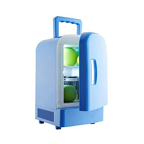 Iinger 12V Mini Portátil 4L Calentamiento de refrigeración Refrigeradores Frigorífico Congelador Cooler Travel Warmer Fit para Auto Car Home Office Picnic al Aire Libre T