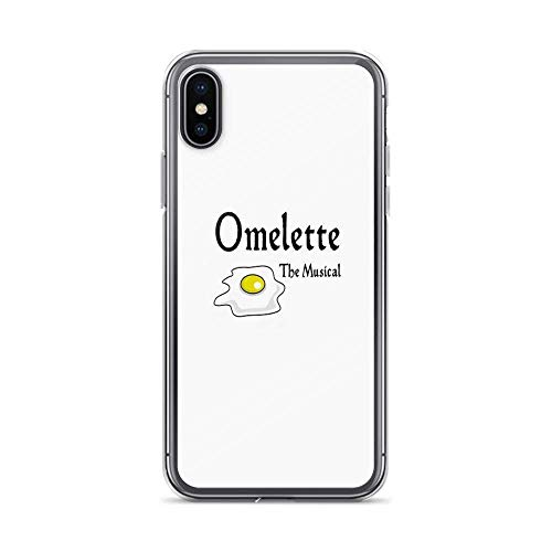 iPhone 11 Pro Max Hülle Pure Clear TPU Fälle Fallschutz Handyhülle Cover Omelette The Musical! (Something Rotten), Broadway