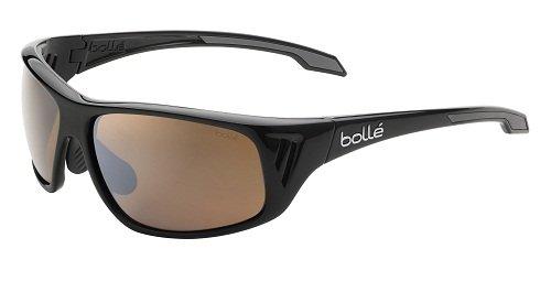 bollé Sonnenbrille Rainier - Gafas de Ciclismo, Color Negro, Talla M/L
