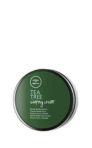 Paul Mitchell Tea Tree Shaping Cream - matte Styling-Creme für Struktur und langanhaltende Stylings, Hair-Styling für alle Haar-Typen in Salon-Qualität, 10 g
