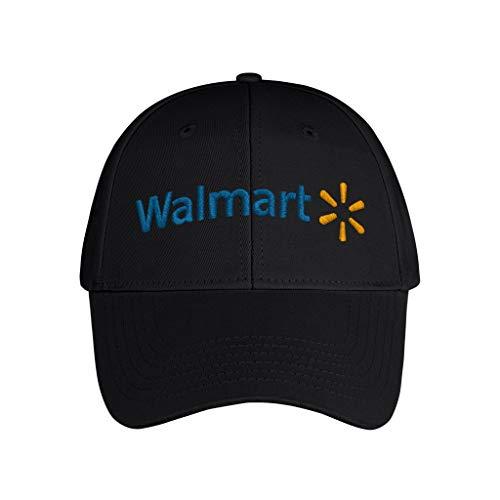 Embroidery Black Hip Hop Unisex Adults-Walmart-Baseball Hat Cycling Dad Cap Originals Breathable
