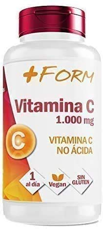 Vitamin C 1000mg | Highly concentrated vitamin C | Maintains and strengthens the defenses Vitamins and minerals for a strong immune system | 100% natural food supplement | 90 tablets