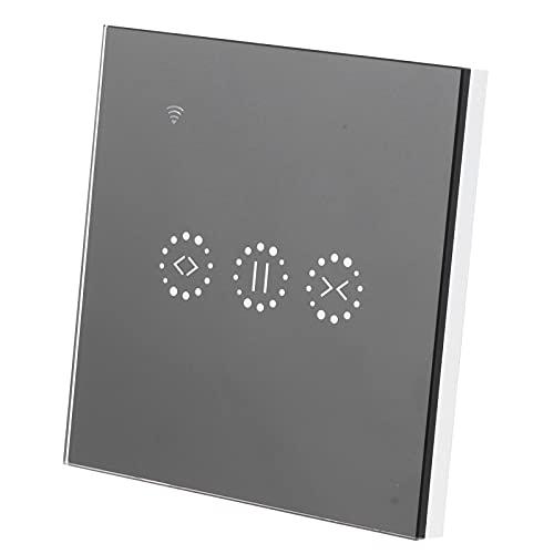 EU 95-250V / AC interruptor de cortina WiFi 10A Control remoto inteligente Control de voz Interruptor de cortina Interruptores de luz eléctricos