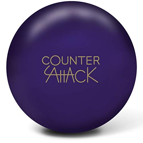 Radical Counter Attack Solid PRE-DRILLED Bowling Ball- Purple...