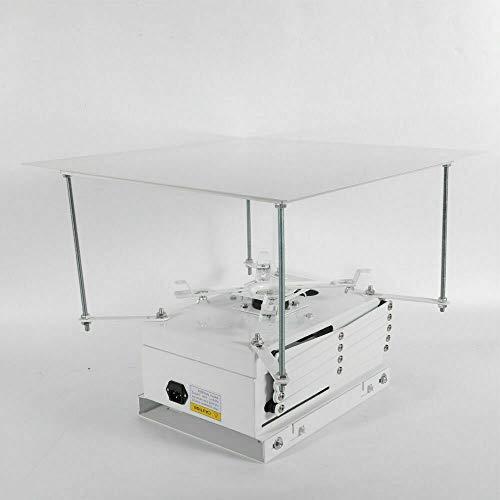 Soporte universal para proyector eléctrico, soporte de techo para proyector, 1 m,...