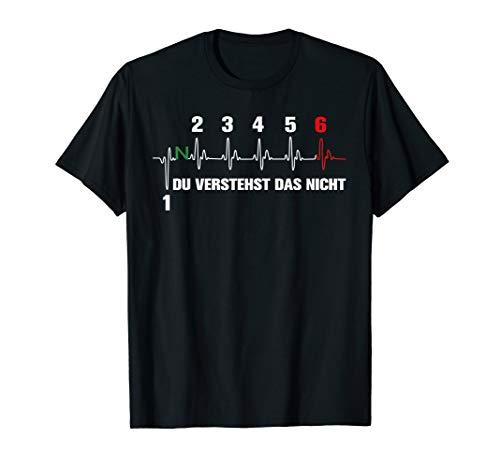 MOTORRAD Herzschlag DU VERSTEHST DAS NICHT T-Shirt Shirt