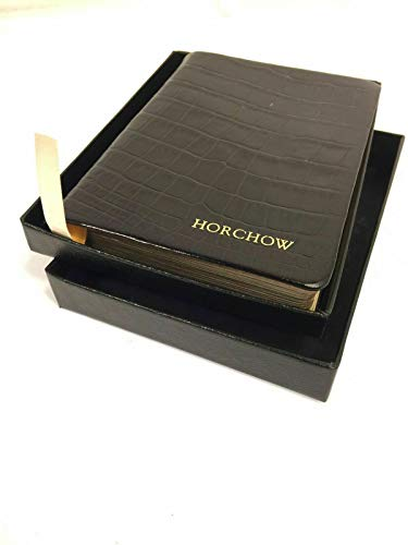 Horchow World Travel Journal Leather Bound Diary