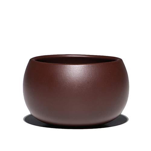 LPLHJD Teapot Piccola Tazza di tè Viola Kung Fu Accessori di tè Tazza Piccola Tazza di tè Master Hand-positivi (Size : Purple Zhu Mu)