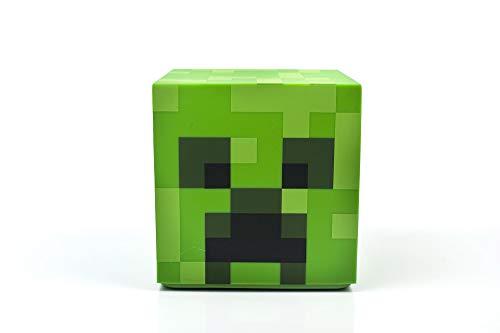 Minecraft Creeper LED Mood Light | Minecraft Creeper Lamp Mood Lighting Battery Powered | Collectible Minecraft Mood Lamp | Green Mood Light LED Minecraft Creeper | 5 Inches Tall