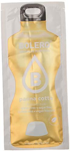 Bolero Bebida Instantánea Sin Azúcar, Sabor Panna Cotta - Paquete de 24 x 9 gramos - Total 216 gramos