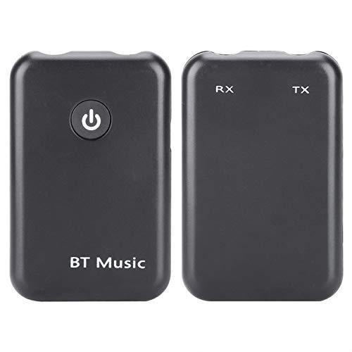 DAUERHAFT Carga rápida 2in1 Dongle V4.2 Adaptador Dual Jack Design Transmisor Bluetooth Receptor Transmisor Receptor, para TV