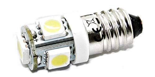 LED-Mafia® 1 culot E10 à vis 6 V SMD E10 6 V (1 x Blanc)