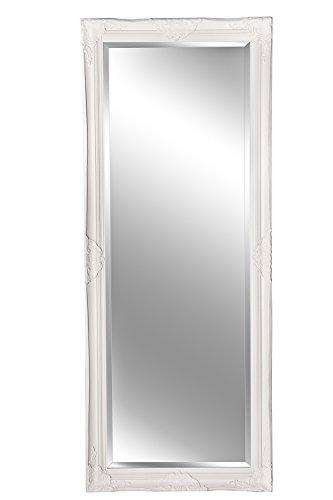 B.U.S. Wohnstyle GmbH Spiegel Wandspiegel Badspiegel Elisabeth Weiß Barock-Stil 150 x 60