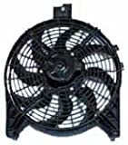 2006 Nissan Armada Performance Cooling Fans - TYC 611180 Nissan Condenser Replacement Cooling Fan Assembly