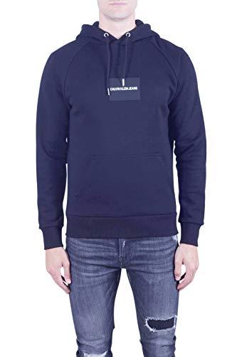 CALVIN KLEIN JEANS - Men's black patch logo hoodie - Size XXL