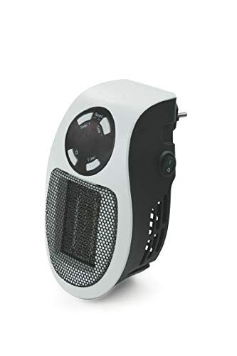 Galileo Casa 2191217 pluggy Mini t/Ventilatore Bianco con Display LED