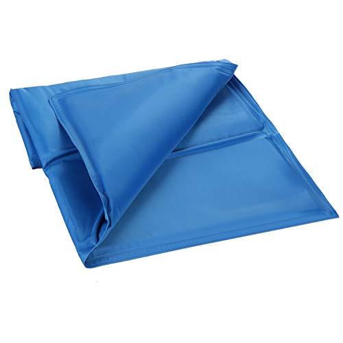 com-four® Kühlmatte für Hunde, selbstkühlende Matte für kleine Hunde und Katzen, Hundekühlmatte für Hundehütten, Zwinger und den Innenbereich