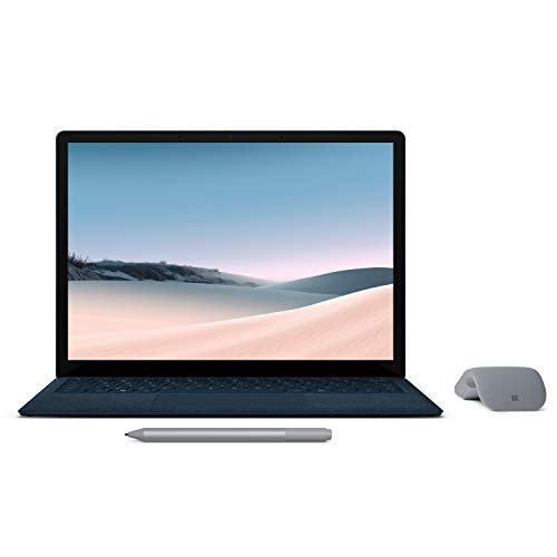 【Microsoft ストア限定】3点セット: Surface Laptop 3 13.5インチ / Core-i5 / 8GB / 256GB コバルトブルー Surface アークマウス グレー Surface ペン プラチナ