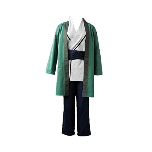 ULLAA Anime Naruto Tsunade Halloween Karneval Cosplay Kostüm Outfit Japanische traditionelle alte Kleidung Ninja Uniform Anzug hohe Qualität