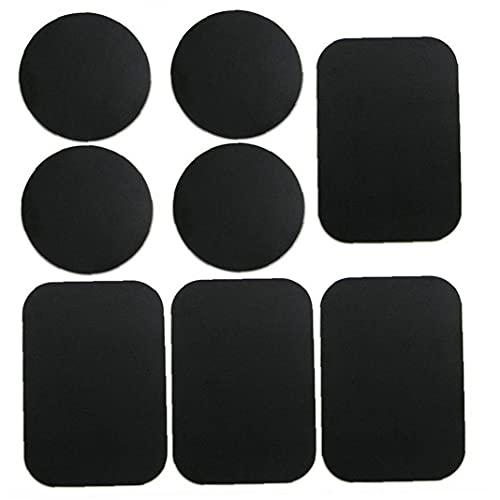 YepYes Teléfono Placas de Metal Placas de Montaje en Metal Placa Pegatina Reemplazar Comfortible con Soporte de teléfono de Montaje en Coche Negro