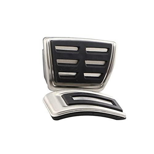 SSXPNJALQ Pedales para automóviles Fit para Volkswagen VW Golf VII Golf 7 7.5 Mk7 Golf7 GTI R 5G BQ Be Van Variant 2012-2021 en MT Pedal Funda (Color Name : AT Without Rest)