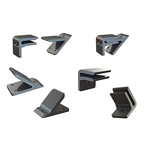 """F7 Crown Molding Clips for Quick and Easy Crown Molding Installation Designed to Hang Crown molding ONLY Between The Sizes of 4.25"""" to 5.75"""""""