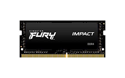 Kingston FURY Impact 8GB 2666MHz DDR4 CL15 Memoria Laptop Modulo Singolo, KF426S15IB/8