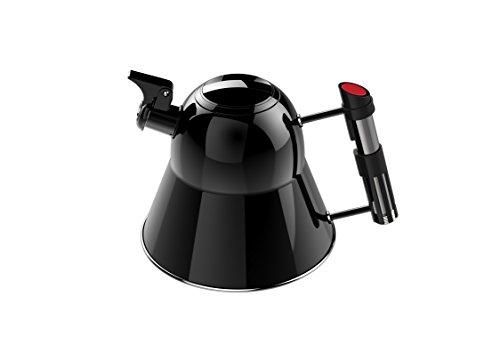 Pangea Star Wars Design Wasserkocher Darth Vader, schwarz, 1,7 Liter