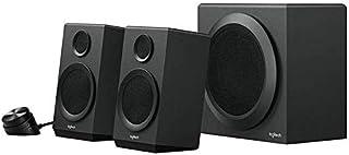 Logitech Speaker System with Subwoofer Z333, Black