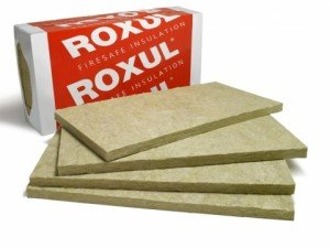 Rockwool Acoustic Mineral Wool Insulation 60-6lbs per sheet 48'x24'x2' 6pcs