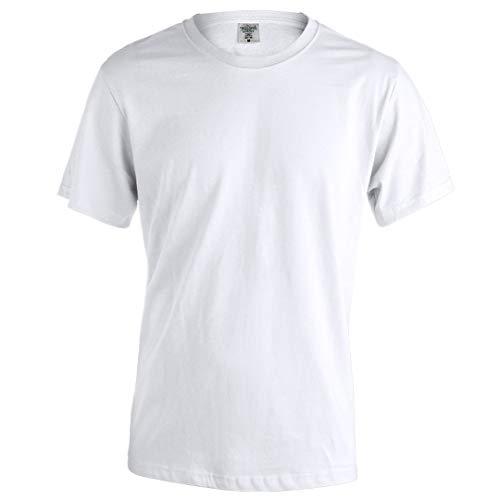 Camiseta Blanca San Fermin (Grande) - Regalo de pañuelo Rojo San Fermin