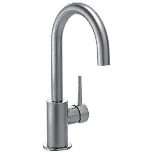 Delta Faucet Trinsic Single-Handle Bar Kitchen Sink Faucet