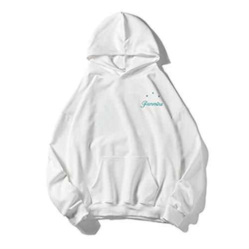 YLSMN Herbst Herren Kapuzenpullover Herren Persönlichkeit Wilde Qualität s M 3D Print Hoodie Outdoor Uniform Unisex Pullover mit Langen Ärmeln M