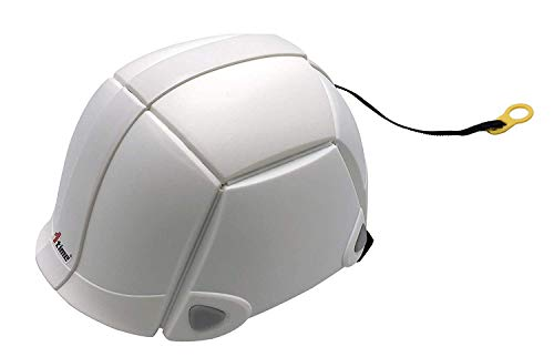 XIN-Dynasty plegable Casco de seguridad blanco con ventilación