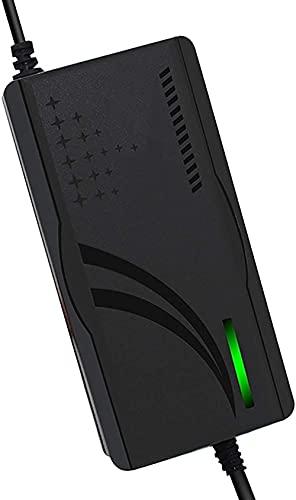 N\C Cargador De Batería De Litio De 46,2 V 3 A para Scooter Eléctrico, Adaptador De Corriente Universal De Iones De Litio para Equilibrio Monociclo Monopatín Hoverboard (Size : G)