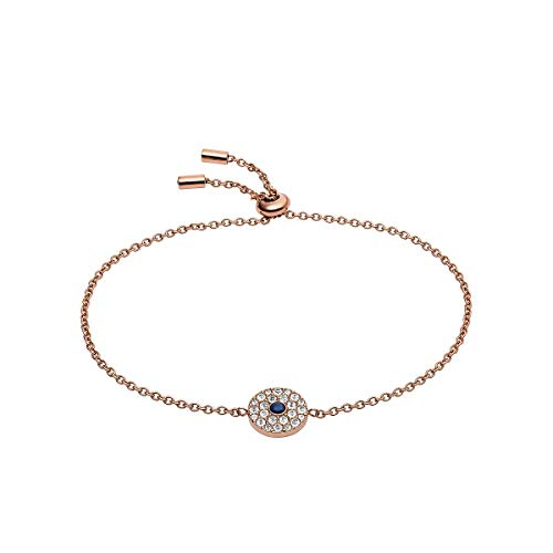 Fossil Vintage Glizt - Bracelet in Rose Gold Tone Stainlesss Steel for Women JF03584791