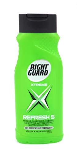 Right Guard Refresh 5 Duschgel, 12er Pack (12 x 250 ml)