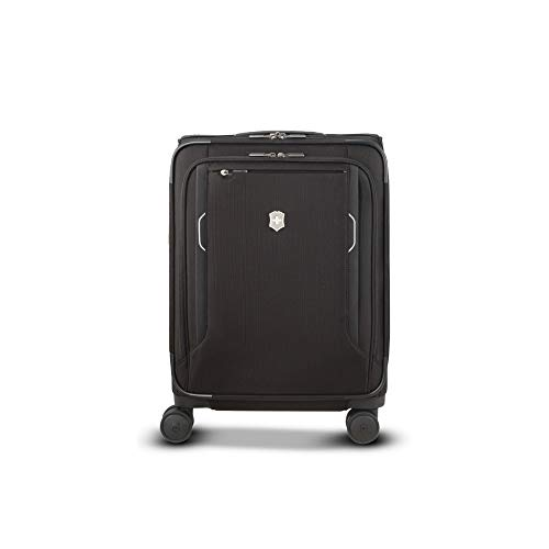 """Victorinox WT 6.0 Softside Spinner Luggage, Black, Carry-On-Global (22"""")"""