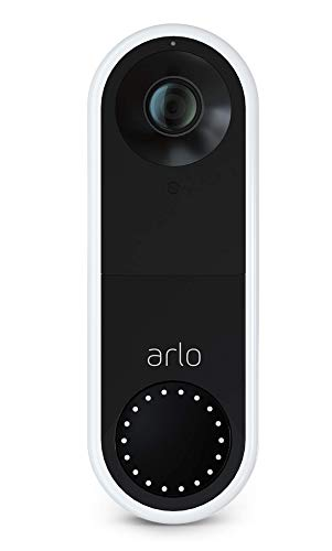 Arlo Video Doorbell Security Camera, HD Video, 2-Way Audio, SMART Package &...