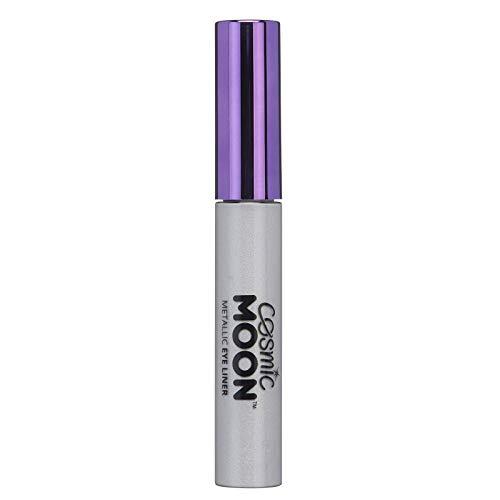Cosmic Moon - Metallic-Eyeliner - 10ml - Für faszinierende Metallic-Augenstile - Silber