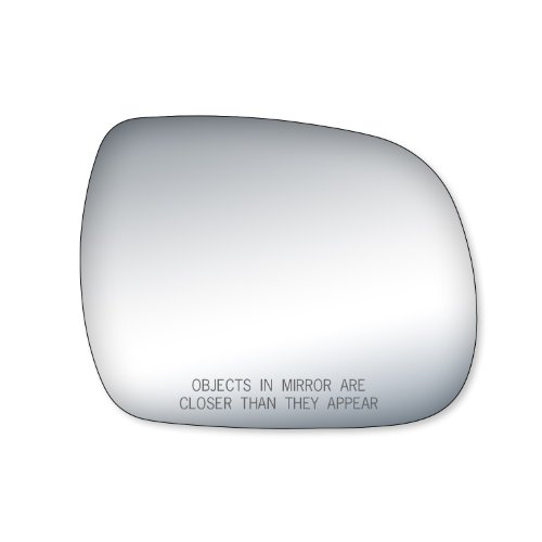 Fit System Passenger Side Mirror Glass, Toyota Tacoma, Crew Cab