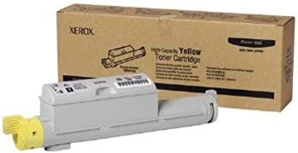 Xerox 106R01220 OEM Toner - Phaser(R) 6360 Yellow Toner High Capacity (12000 Yield) OEM