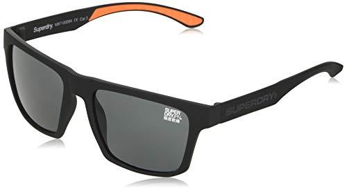 Superdry Combat gafas de sol, Rubberised Black, OS para Hombre