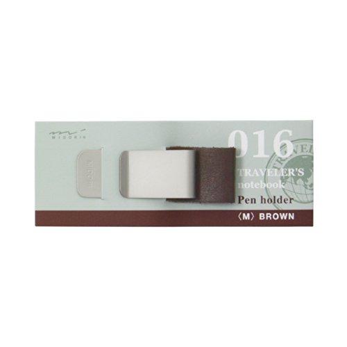 Midori Traveler's notebook Pen holder, Brown 016