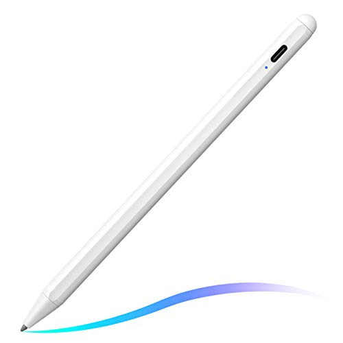 Stylus Pen for iPad with Palm Rejection, FOJOJO Active Pencil Compatible with (2018-2020) Apple iPad 8th/7th/6th Gen, iPad Air 4th/3rd Gen, iPad Pro 11 & 12.9 inch, iPad Mini 5th Gen