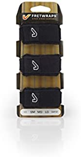Gruv Gear FretWraps 3-Pack String Muters, Medium, Black