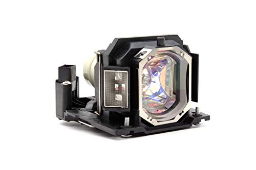 Emazne DT01191 Projector Replacement Compatible Lamp with Housing for Hitachi CP-X2021 Hitachi CP-X2021WN Hitachi CP-X2521 Hitachi CP-X2521WN Hitachi CP-X3021WN Hitachi HCP-U25S Hitachi HCP-U26W
